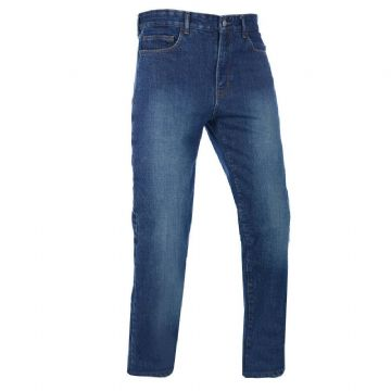 Oxford Barton Straight Fit Kevlar Motorcycle Motorbike Jeans Echo Blue Short Reg